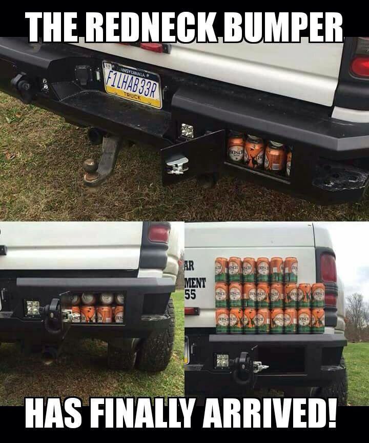 Beer bumper.