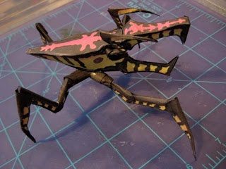 Starship Troopers Papercraft - Warrior Bug