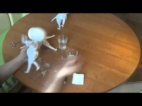 Мастер класс Юлии наталевич по созданию кукольных причесок. - YouTube