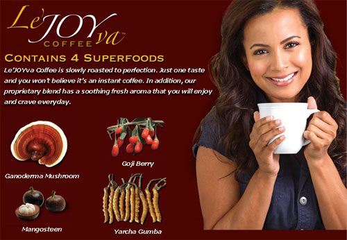 Coffee has a new King! Best Tasting Coffee EVER!  Ganoderma Coffee is the world's first coffee that is actually Good for you!... and YOU can earn just by sharing it with others!  This Ganoderma Coffee will allow you to...  Shed Pounds, Improve Health, Improve your Love-Life & earn 6-figures!  Find out more here:  http://master-marketing-tools.com/facebook/joy-to-live-lejoyva-gourmet-coffee.html  * Great Coffee * Improve Health! * Earn 6 figures *