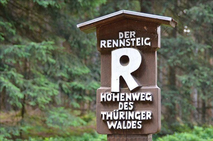 Rennsteig, Thüringer Wald, Thüringen, Germany