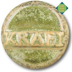 Steinz.gl. kristall seegrün 1220-1250°