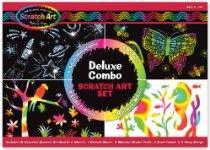 Deluxe Combo Scratch Art Set SKU-PAS1124116