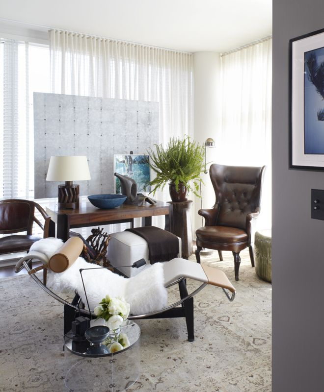 Eclectic Modern Transitional Library Neal Beckstedt