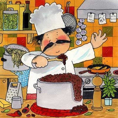 Praatplaat de kok