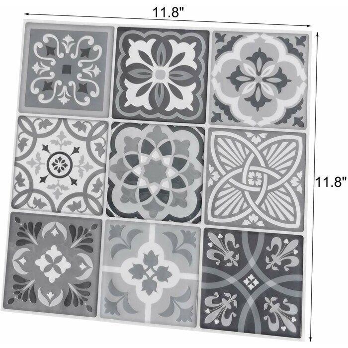 12 X 12 Pvc Peel Stick Mosaic Tile Kitchen Backsplash Peel And Stick Mosaic Tiles Peel And Stick Tile