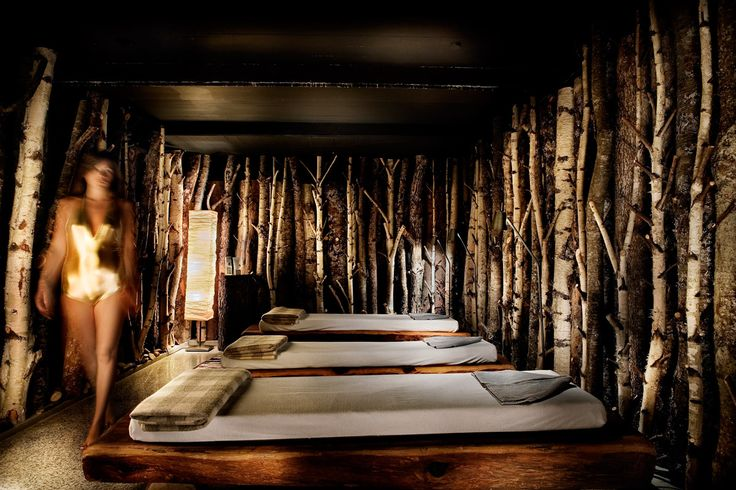 The Spa Menu at a luxury chalet in the Alps - Les Fermes de Marie : 5 stars hotel Megève
