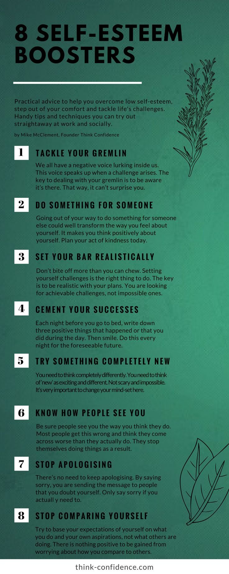 How to develop self-confidence Good advice 64