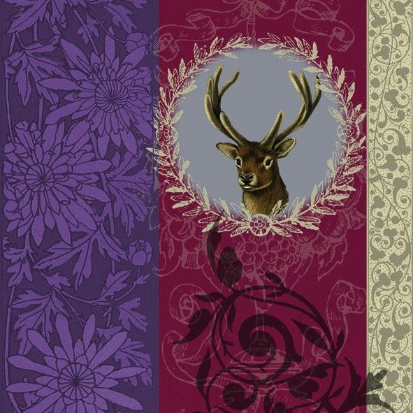 My Deer Party Napkins   20 X 3 Ply Quality Christmas Stag Tableware