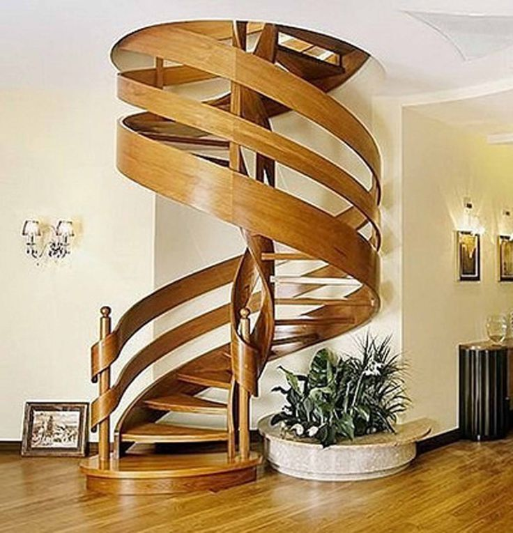 Modern Stairs Has A Modern Shape And Were