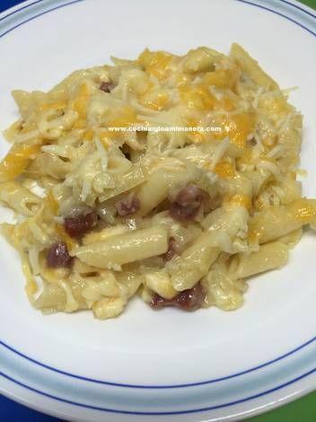 17 mejores ideas sobre macarrones con queso al horno en - Macarrones con verduras al horno ...