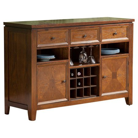 Found it at Wayfair - Albany Server in Oak