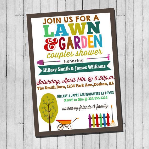 Lawn And Garden Wedding Shower