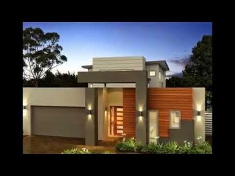 Planos de casas de un piso incluye fachadas modernas - Cerramientos de fachadas ...