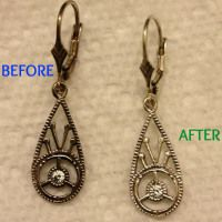 Friday's Focus On: Cleaning Tarnished Jewelry {DIY} | cutedogsandhugs