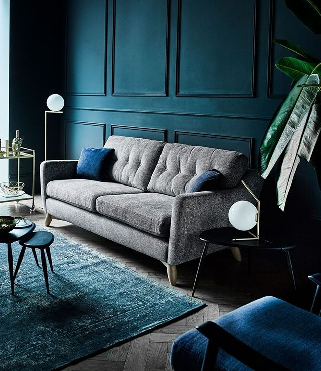 Cosenza Is A Stylish Upholstery Collection With Retro Undertones Deep Buttoning In The Back Cushions Creates Design Appea Large Sofa Furniture Ercol Furniture