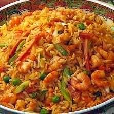 Kinesiskt stekt ris - Recept - Tasteline.com