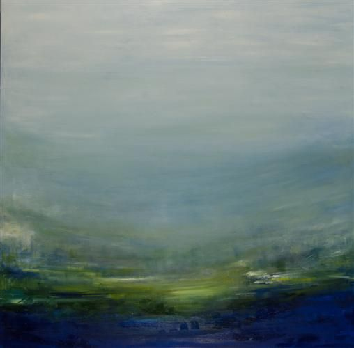 Loving this abstract #landscape #painting ! Open by Kajal Zaveri