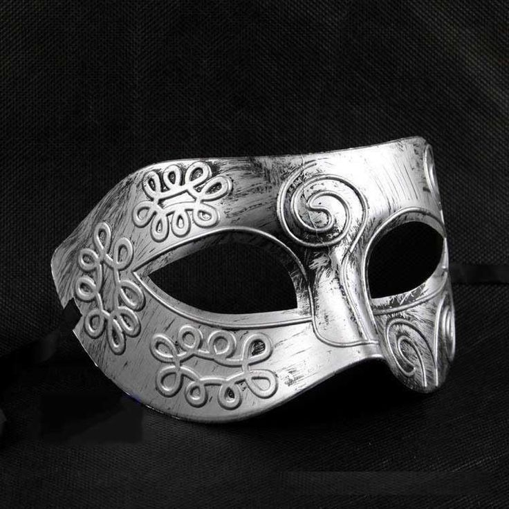 I think... i can make this... with the aluminum foil and glue gun technique - Venetian Mardi Gras Party Masquerade Mask