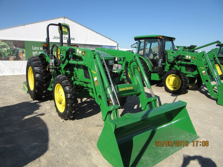 Cabless John Deere 5065E equipped with H240 loader