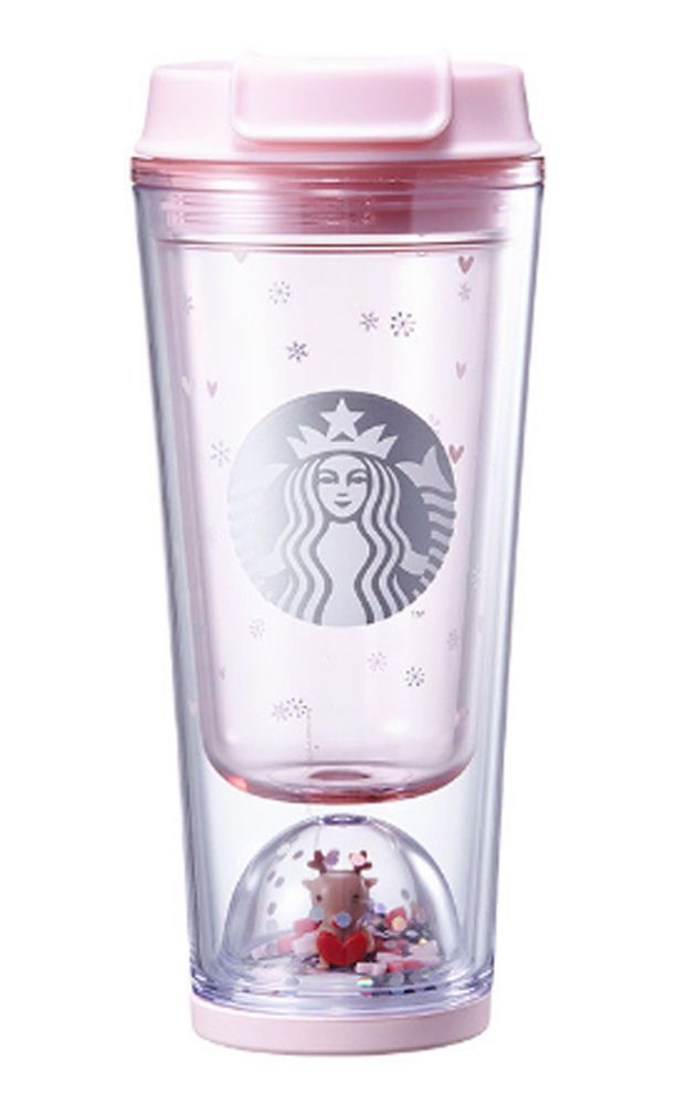 Starbucks Korea 2017 Autumn Coffee village figure cold cup tumbler 473ml+track