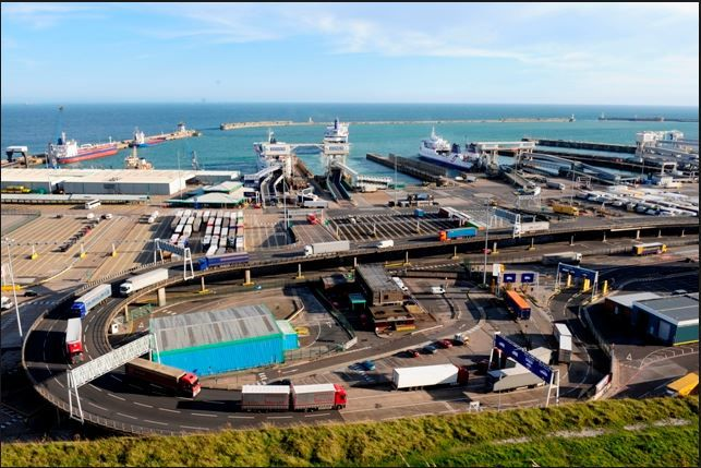 Port Of Dover in Dover, Kent