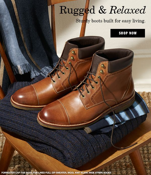 johnston and murphy forrester shearling boot