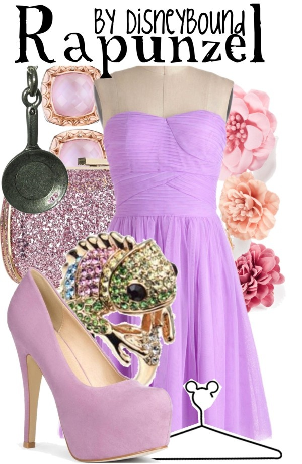Disney Inspired Outifts - Tangled one of my favorite disney bound outfits