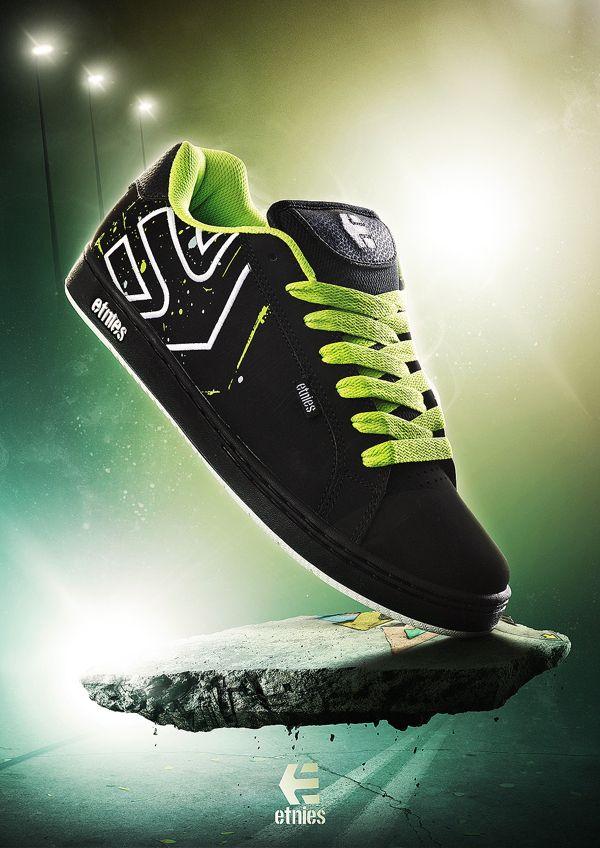 Etnies Shoe Ad by Louis Stilling