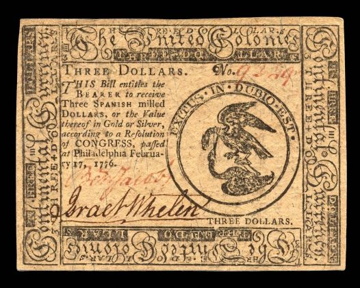 Continental Currency   The American Revolution Center