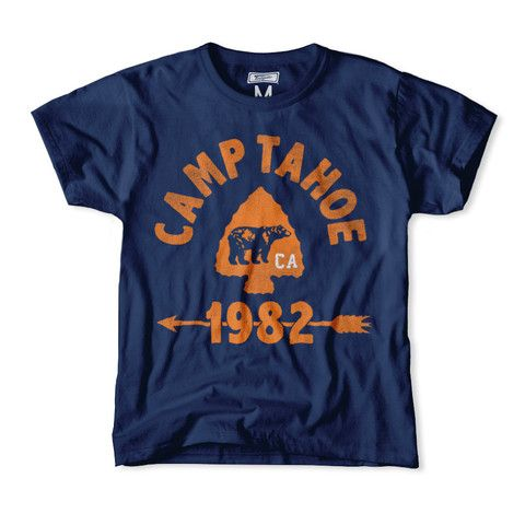 Camp Tahoe 1982 Kids T-Shirt