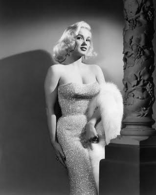 Steve McQueen's women: Mamie Van Doren (early 1950's)