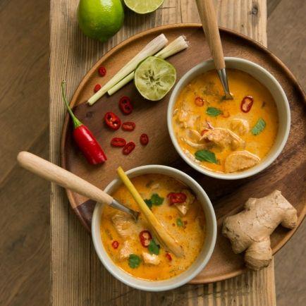 Thailändische Hühnersuppe – Dille & Kamille – seit 1974
