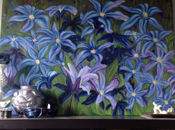 Oil painting Hyacinth