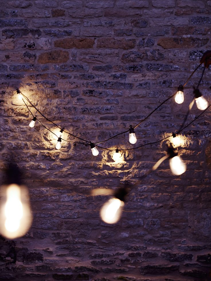 NEW Extendable Teardrop Festoon Lights - String Lights - Lighting