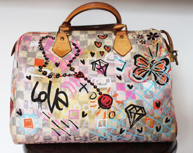 Customizadas: As bolsas da Christiana