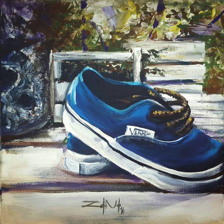 #shoes #paint #painter #painting #vans #brush #picture #canvas