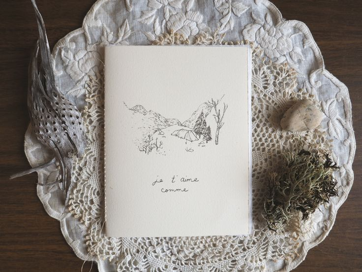 Beautiful love card for nature lovers!