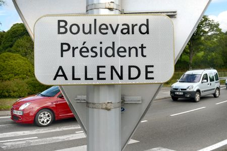 boulevard Président Allende. Quimper, France