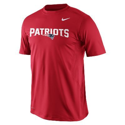 Nike Pro Combat Hypercool Fitted Speed 3 (NFL Patriots) Men's Shirt #GoPats