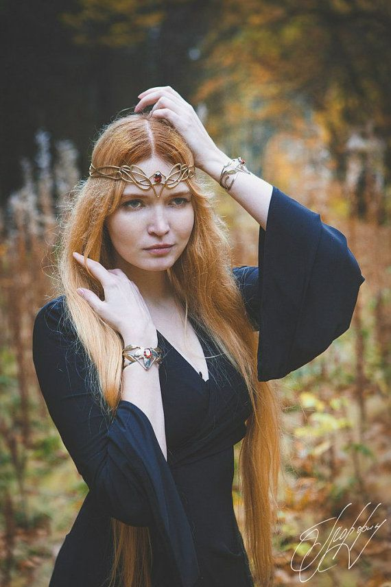 Elven diadem wedding Tiara bridal headband Kalanta