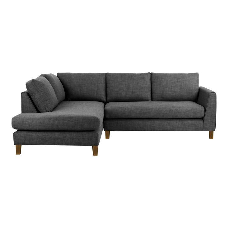Ben de Lisi Home Fabric 'Jakob' left-hand facing corner sofa- at Debenhams.com