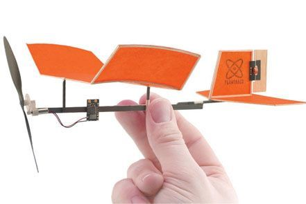 Micro RC Plane Set: Balsa Butterfly - The Best of Radio Control Planes | Microflight.com