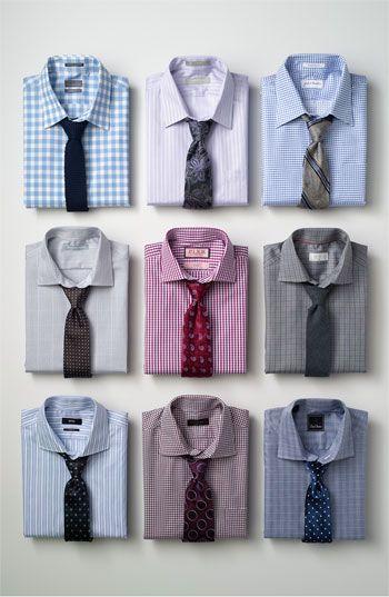 Shirt / Tie Combos combinacion camisa corbata