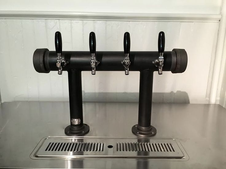 577 best tapped beer custom draft towers beer wine cider for Painting black iron pipe