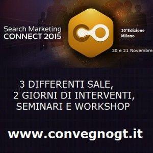 Eventi, al Search Marketing CONNECT 2015 con PMI Servizi