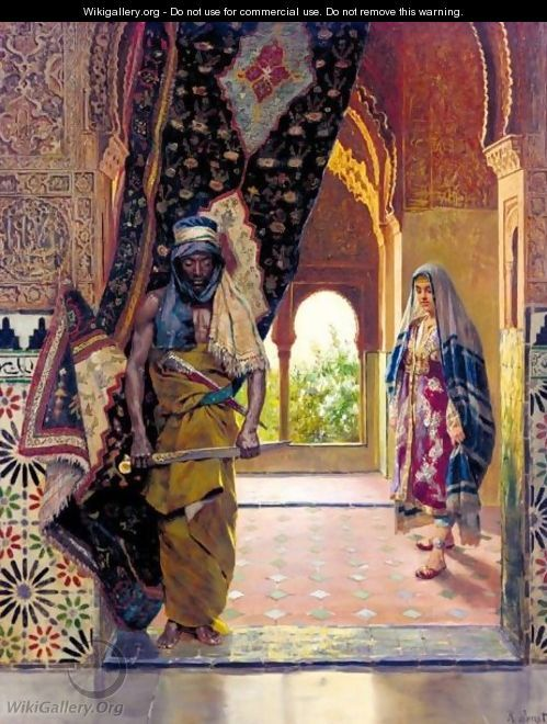 The Guard of the Harem, Rudolph Ernst