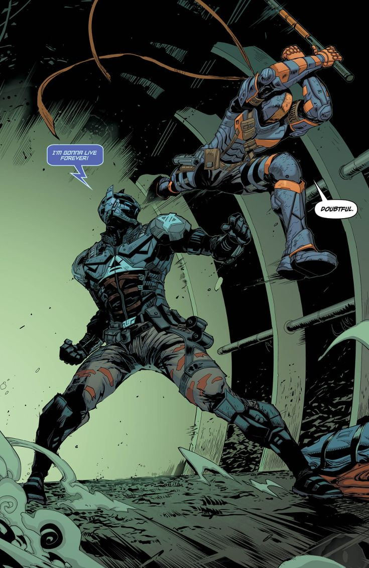 Check out a preview of BATMAN: ARKHAM KNIGHT - GENESIS #5 from DC Comics.