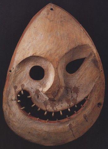028. Inuit mask dancing, Alaska [1880]