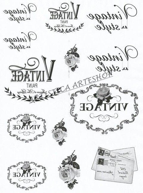 Resultado de imagen para laminas para transferencias vintage